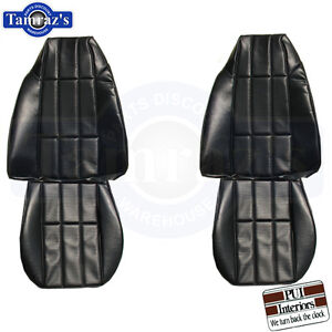 1977 77 Camaro Lt Custom Front Seat Upholstery Covers Pui New