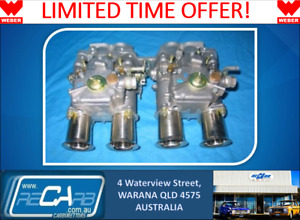 Toyota Corolla 3k 4k 5k Genuine Twin Weber 45 Dcoe Carburettor Conversion Kit