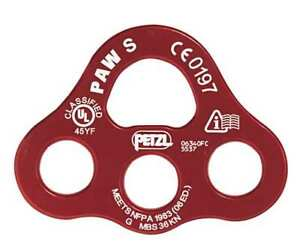 Paw P63 S Anchor Plate S Aluminum 8100 Lb Red
