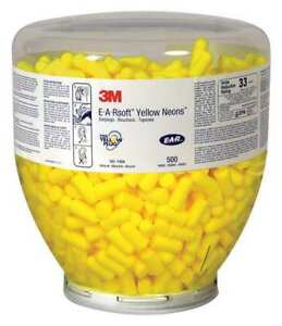 3m Ear Plugs 33db regular tapered pk500 391 1004