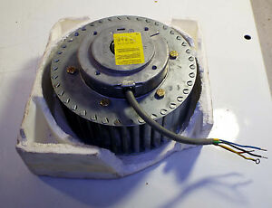 1 New 97157222 044 3 phase Squirrel Cage Blower Motor 7 x7 x3