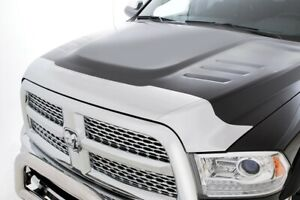 Lund 738051 Hood Defender Bug Shield Chrome 2010 2016 Dodge Ram 2500 3500