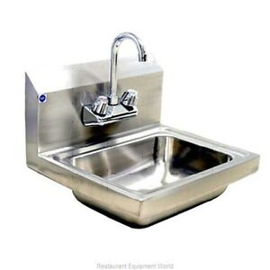 Blue Air Commercial Stainless Steel Bsh 14 lf Sink Hand New