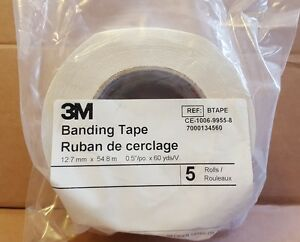 Qty 20 New 3m Heater Cable Banding Fibreglass Cloth Tape Btape 0 5 X 60yds