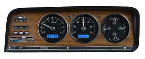 Dakota Digital 73 85 Wagoneer Analog Gauges Black Alloy Blue Vhx 73j Wag K B