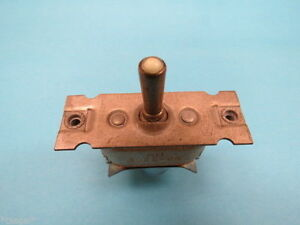 An3022 6b on off mom on Vintage Aircraft Toggle Switch Nos Warbird