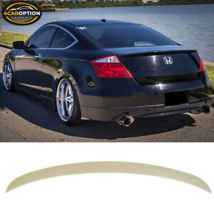 Fits 08 12 Honda Accord 2dr Coupe Oe Style Rear Boot Trunk Spoiler Wing Abs