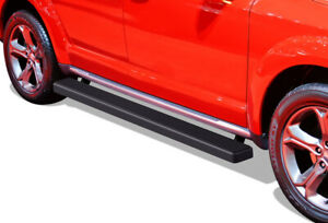 Iboard Running Boards 4 Inches Matte Black Fit 09 20 Dodge Journey