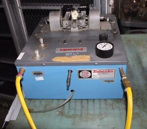 Eubanks Engineering Co Model No 3751 01 Pneumatic Wire Stripping Machine