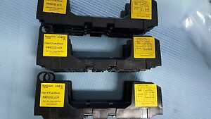 Lot Of 3 Pcs Bussmann Rm60030 xcr Fuse Block
