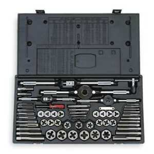 Tap And Die Set 5 16 To 3 4 In 58 Pc Vermont American 21739