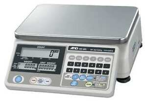 Digital Compact Bench Scale 30 Lb Capacity A d Weighing Hc 15ki