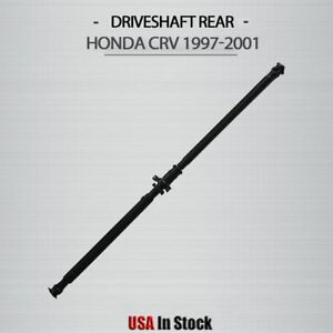 Rear Drive Shaft Prop Driveshaft Assembly Fit 1997 2001 Honda Crv Cr V 2 0l 4wd