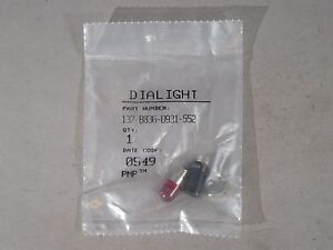 Dialight 137 8836 0931 552 Red Indicator New
