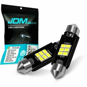 Jdm Astar 2x 42mm 5730 Smd White Map Dome Interior Led Light Bulbs 211 2 578 569