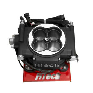 Fitech Fuel Injection 30002 Go Efi 4 600 Hp System Matte Black Throttle Body