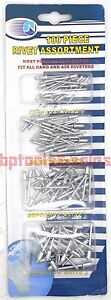 100pc Pop Rivet Assortment Set Aluminum For Blind Riveter Gun Hand