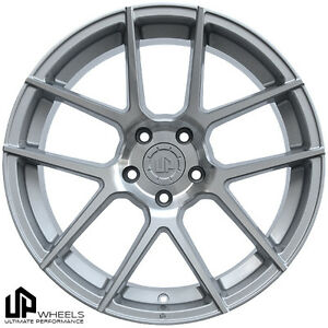 New 19x9 5 5x112 Ultimate Performance Up520 Wheels Set Silver Et40 Audi Vw Mbz