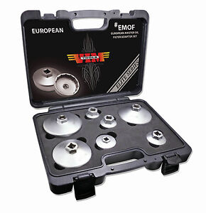 Vim Tools fmof 6 Piece Ford Master Oil Filter Adapter Set