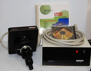 Diagnostic Instruments Spot 2 Slider Microscope Camera Model 1 4 0