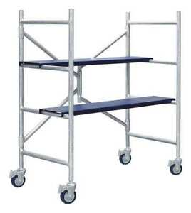 Portable Scaffold 4 Ft H Aluminum Xtend Climb Imac