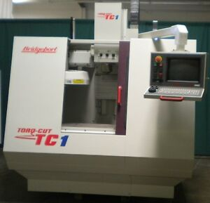 Bridgeport Tc 1 Cnc Vertical Machining Center Cnc Milling Centroid Cnc