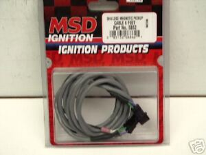 Msd 6 Shielded Cable Connects Dist To Box Chevy Ford Mopar 8862