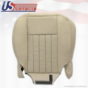 2003 2004 Lincoln Navigator Driver Bottom Replacement Leather Seat Cover Tan