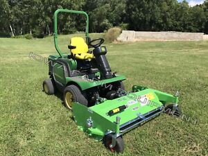 Flail Deck John Deere Front Mount Mowers peruzzo 1600hd 63 Finish
