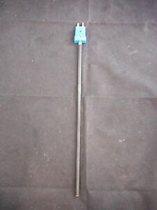 Chemglass Pfa Coated Ss 1 4 Diameter 12 Long Type t Thermocouple Probe