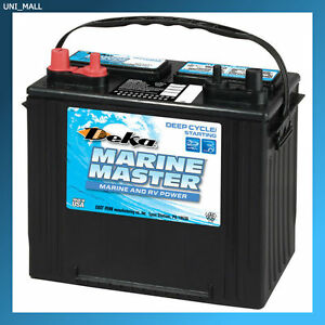 Deka Genuine New Dp24 Marine Deep Cycle Starting Battery 675amp Cca group 24