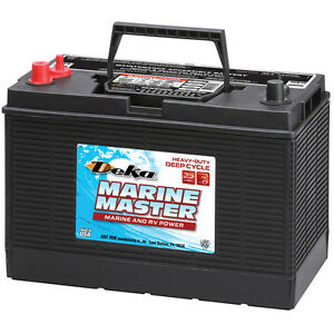 Deka Genuine New Dc31dt Marine Deep Cycle Mattery 800amp Cca group 31