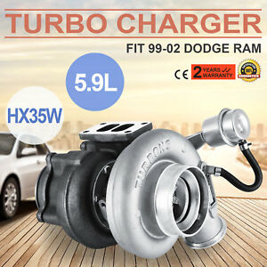 Hx35w Turbo Charger 3592766 For Dodge Ram Cummins 5 9l Truck 6bt Diesel 1999 02