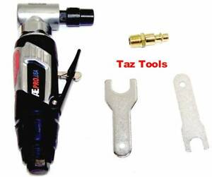 1 4 Air Angle Die Grinder Right Angle Cutting Grinding 4 Speed Air Tool Atepro