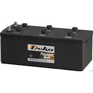 Deka Genuine New 908d 12volt Commercial Battery 1720amp Crankingpower group 8d