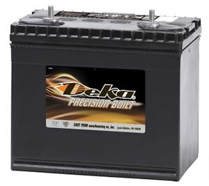 Deka Genuine New 928mf 12volt Battery 675amp Cranking Power group 28