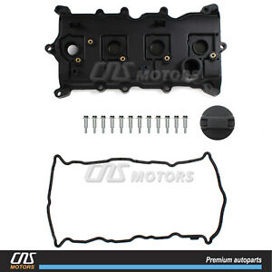 New Engine Valve Cover W Gasket For 07 13 Nissan Altima Sentra Se r 2 5l Qr25de