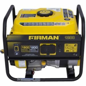 Firman P01201 Performance Series 1200 Watt Portable Emergency Generator