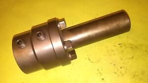 Warner Swasey 3 4 M 1722 Turret Lathe Adjustable Tool Holder 1 5 Id 1 1 2 S