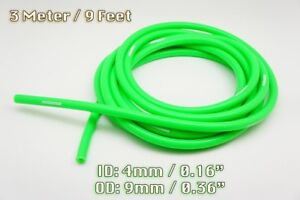 3 Metre Green Silicone Vacuum Hose Air Engine Bay Dress Up 4mm Fit Audi
