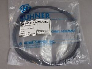 Huber Suhner 90581929 3013942k40 Cable Assy Ef142 16sma 25n 2 4m New