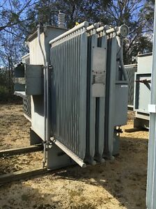 Westinghouse 2000 Kva 13 800 Primary 480y 277 Secondary Substation Transformer