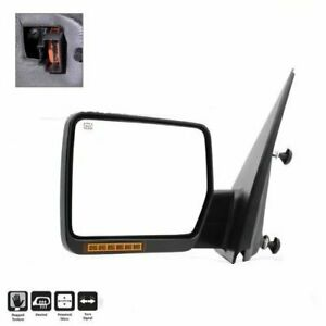 For 2004 06 Ford F150 Power Heated W led Signal Lh Driver Side View Mirror
