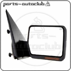 2004 2006 04 06 Ford F150 Power Heated Mirror W Led Signal Passenger Side Right