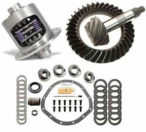 Gm Chevy 12 Bolt Car 3 42 Excel Ring And Pinion 33 Spline Posi Gear Pkg