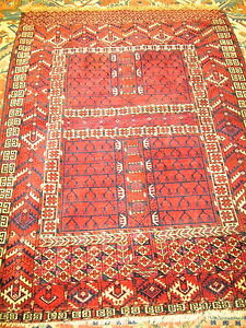 Antique Turkemon Oriental Rug