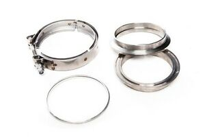3 0 V band And Machined Full Stainless Flange Clamp Assembly Gasket 3 75 Od