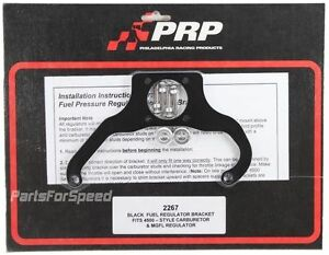 Prp 2267 Fuel Pressure Regulator Bracket Magnafuel Dominator Made In The Usa