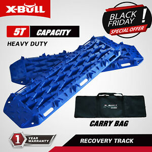 X Bull New Recovery Traction Tracks Sand Mud Snow Track Tire Ladder 4wd Blue