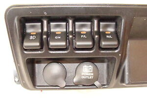 Jeep Tj Wrangler Rocker Switches R L F L On Light Logo Set Of 4 Included